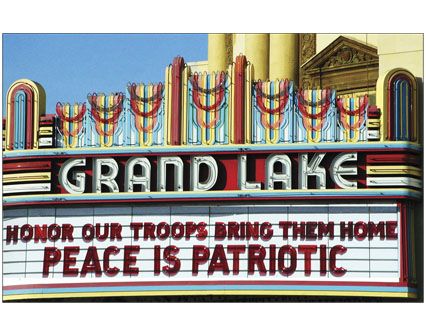 HONOR OUR TROOPS BRING THEM HOME PEACE IS PATRIOTIC