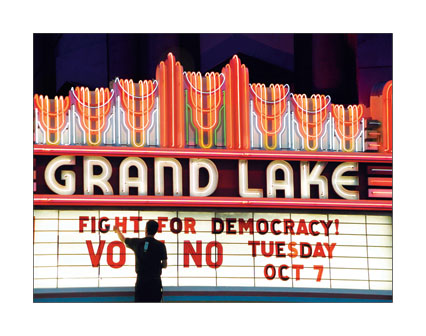 Fight for Democracy! Vote No Tuesday Oct. 7