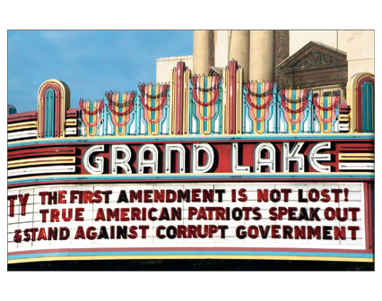 The First Amendment is not Lost! True American Patriots Speak out & Stand against Corrupt Government