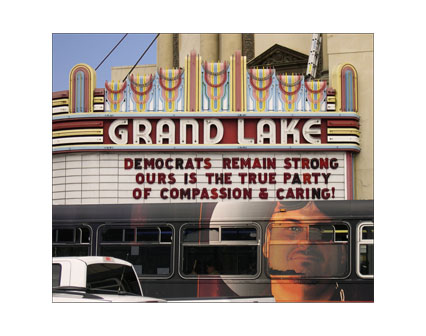 DEMOCRATS REMAIN STRONG OURS IS THE TRUD PARTY OF COMPASSION & CARING